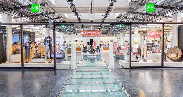 FASHION FISH - Marken-Outlet in Schönenwerd mit 45 Shops